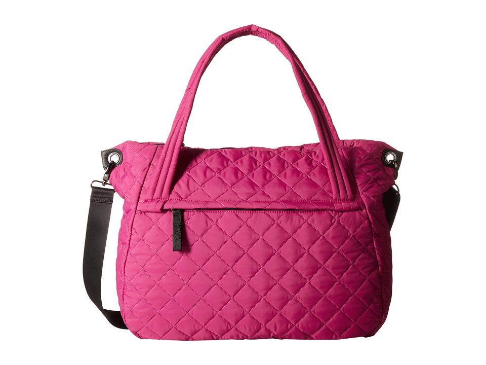Madden Girl - Fitt Nylon Tote (Fuchsia) Tote Handbags