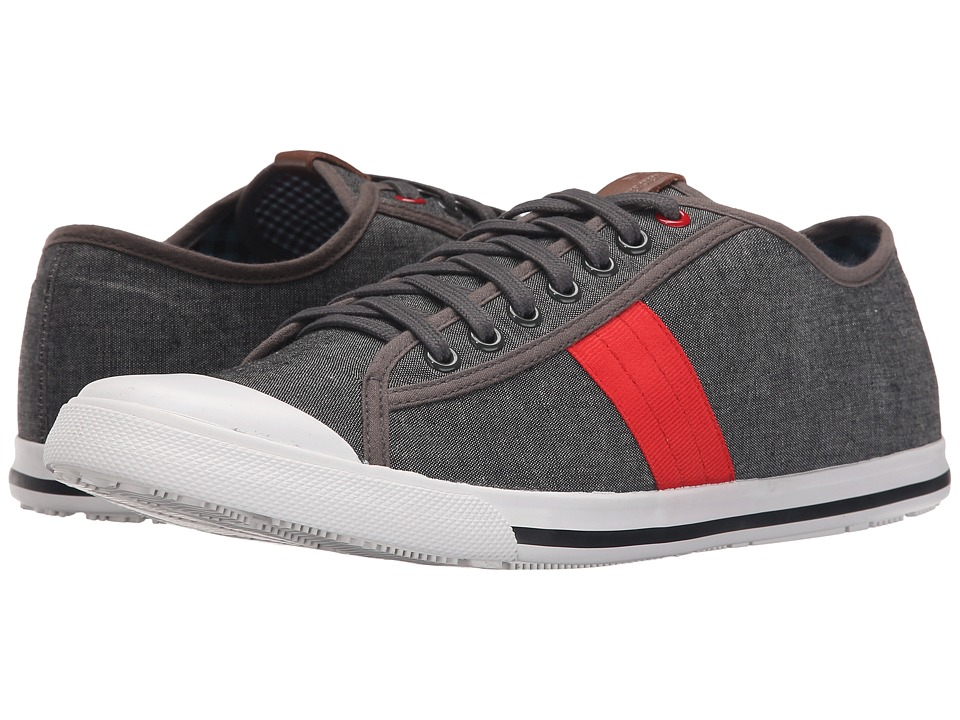 Ben Sherman - Eddie Lo (Grey Chambray) Men's Lace up casual Shoes