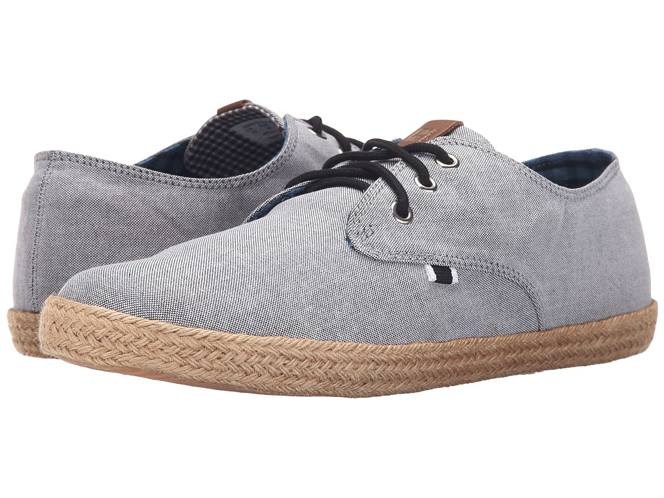 Ben Sherman - Prill Lace-Up (Black Chambray) Men