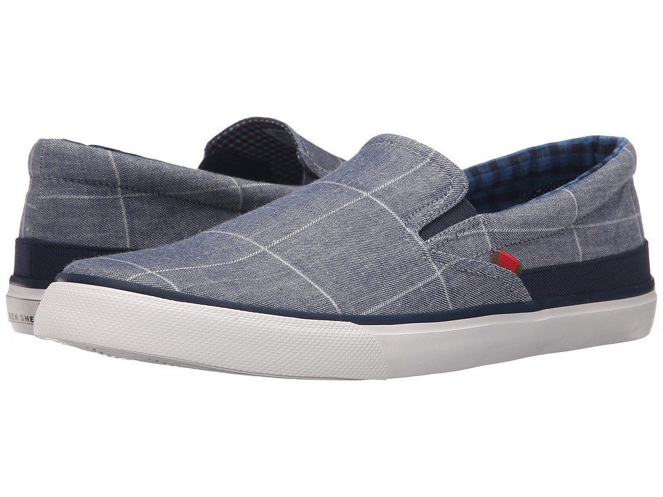 Ben Sherman - Pete Slip-On (Window Pane) Men's Slip on Shoes