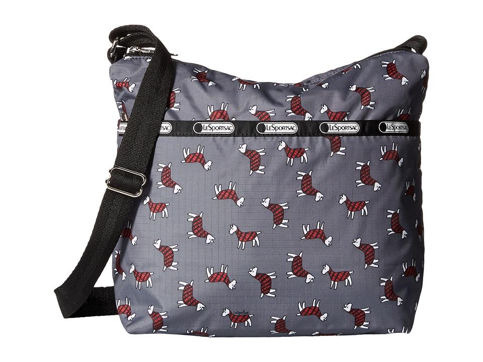 LeSportsac - Small Cleo Crossbody Hobo (Terrier Toss) Cross Body Handbags