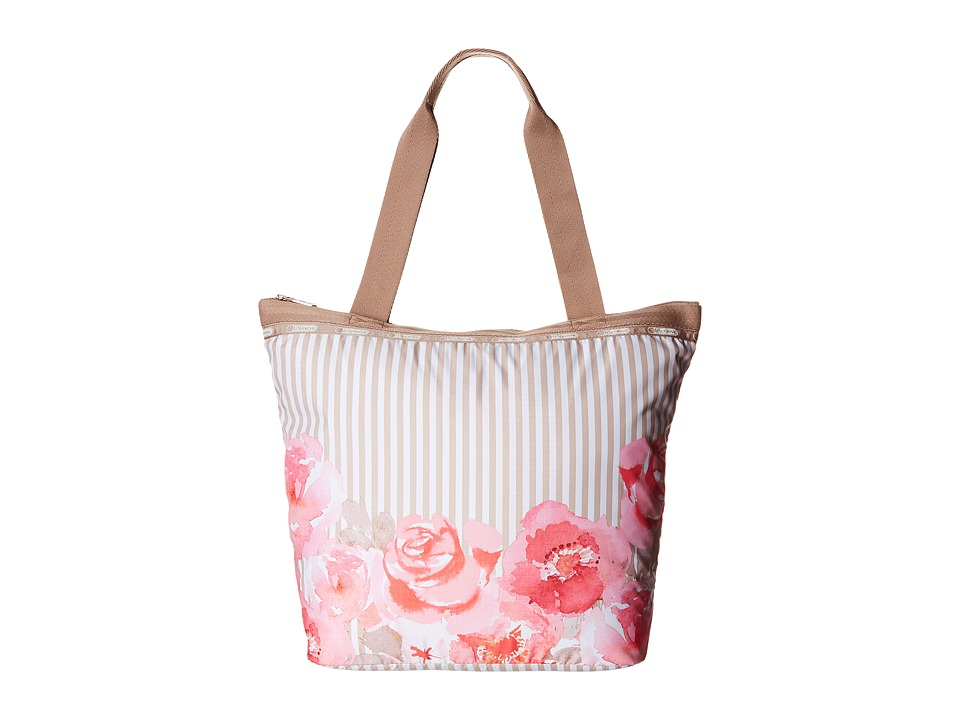 LeSportsac - Hailey Tote (Rosy Dreams Tote) Tote Handbags