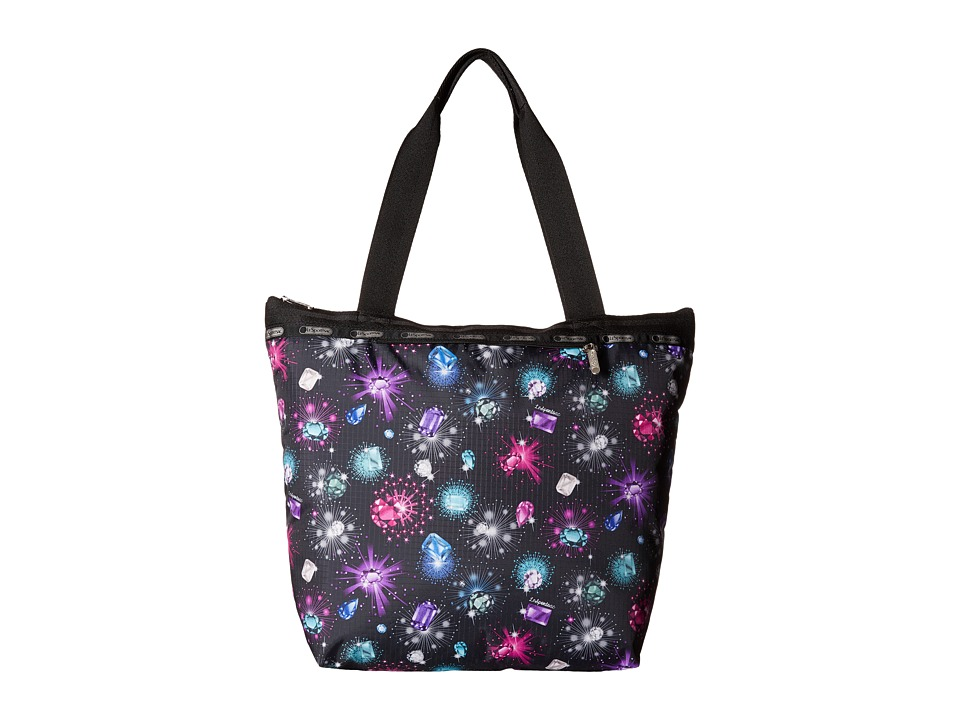 LeSportsac - Deluxe Hailey Tote (Diamonds Deluxe) Tote Handbags