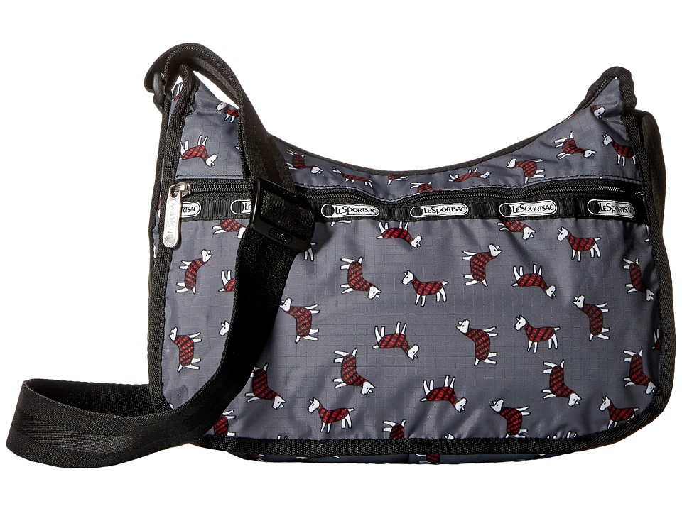 LeSportsac - Classic Hobo Bag (Terrier Toss) Cross Body Handbags