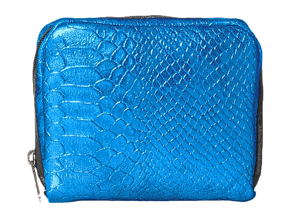 LeSportsac - Square Cosmetic Case (Cobalt Snake) Cosmetic Case