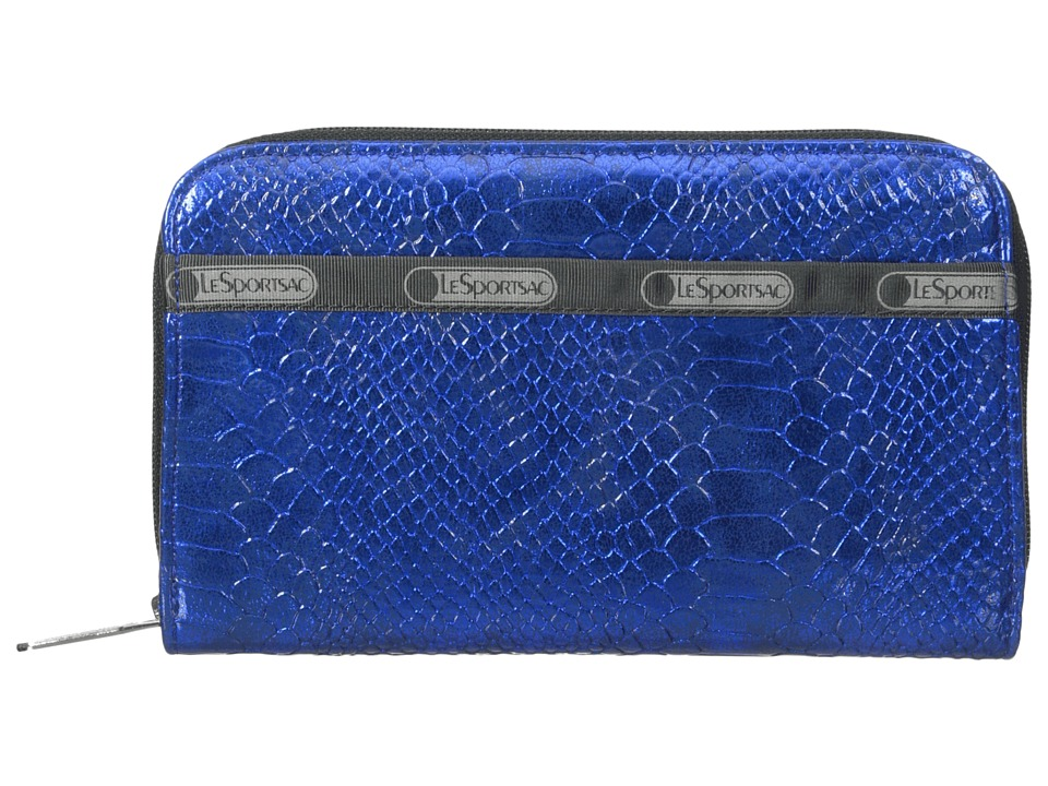 LeSportsac - Lily (Cobalt Snake) Checkbook Wallet