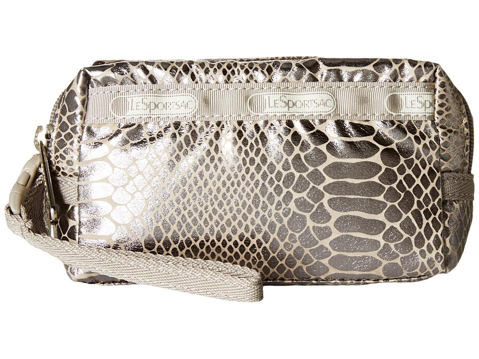 LeSportsac - Small 2 Zip Wristlet (Magnetic Snake) Wristlet Handbags