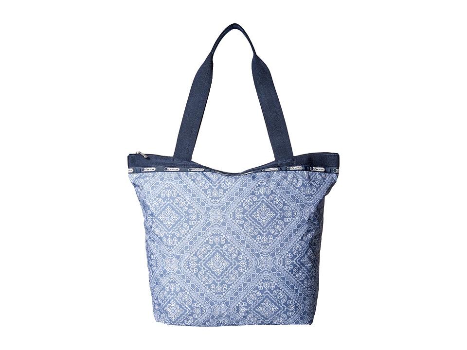 LeSportsac - Hailey Tote (Bandana Lace) Tote Handbags