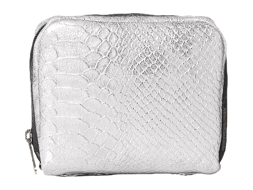 LeSportsac - Square Cosmetic Case (Silver Snake) Cosmetic Case