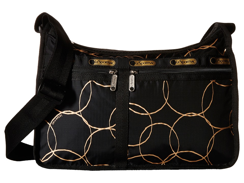 LeSportsac - Deluxe Everyday Bag (Gold Links) Cross Body Handbags