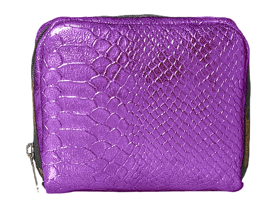 LeSportsac - Square Cosmetic Case (Purple Snake) Cosmetic Case