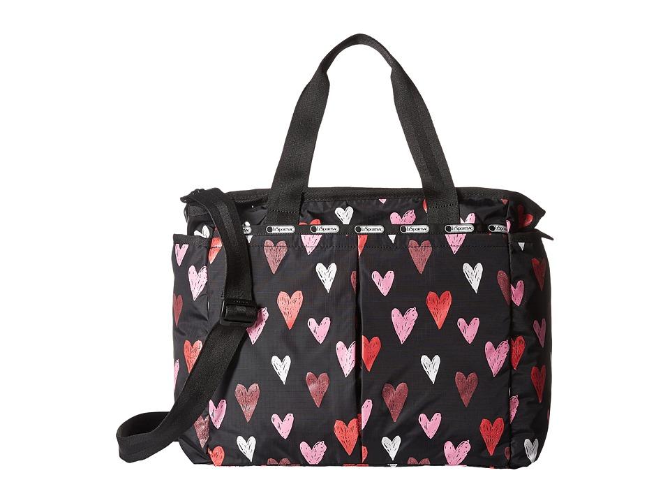 LeSportsac - Ryan Baby Bag (Passion Hearts) Diaper Bags