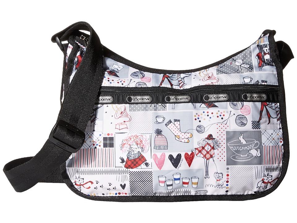 LeSportsac - Classic Hobo Bag (Warm Wishes) Cross Body Handbags