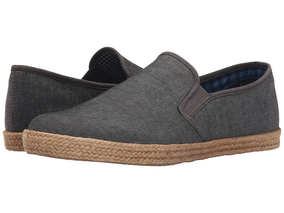 Ben Sherman - Prill Slip-On 2 (Grey Chambray) Men