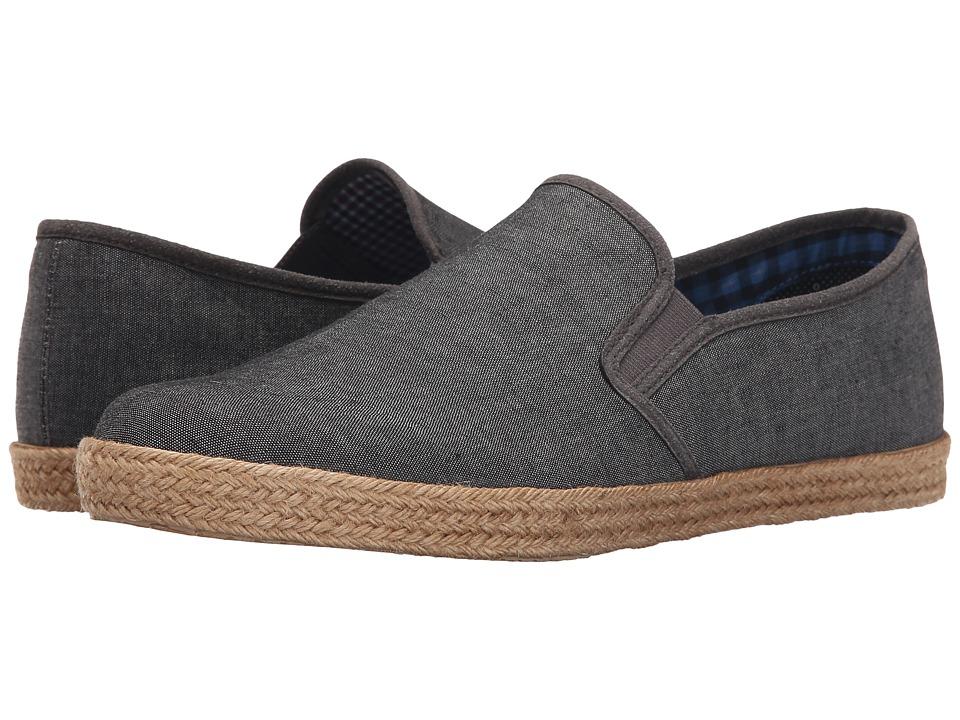 Ben Sherman - Prill Slip-On 2 (Grey Chambray) Men's Slip on Shoes
