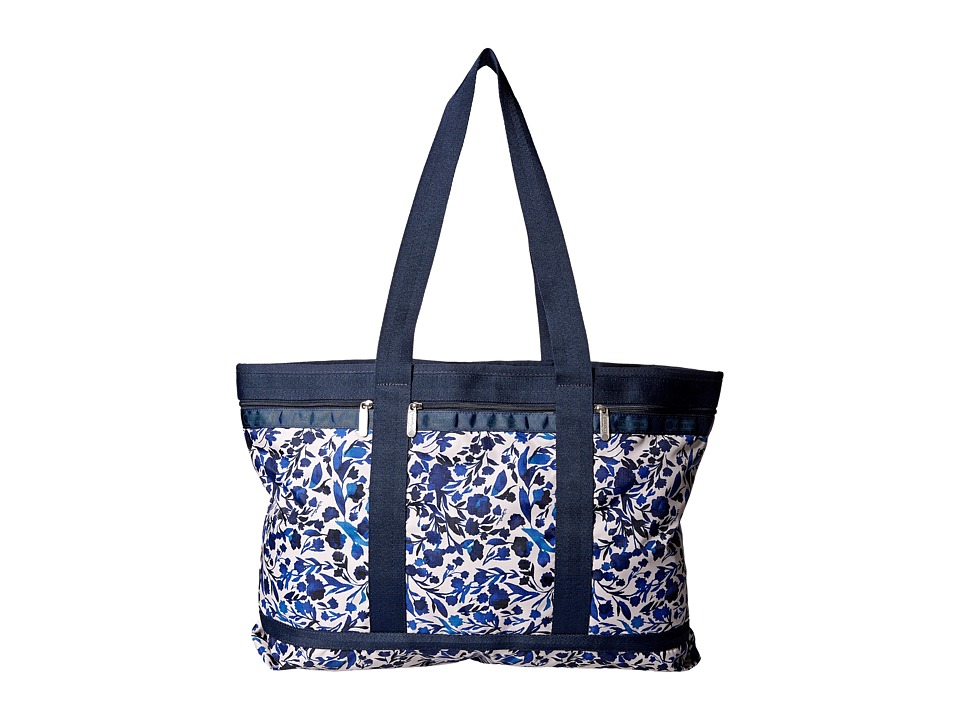 LeSportsac Luggage - Travel Tote (Blooming Silhouettes) Bags