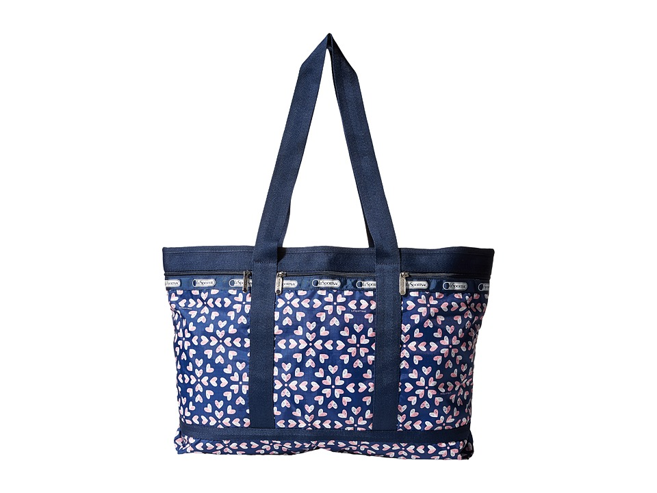 LeSportsac Luggage - Travel Tote (Heart Burst Navy) Bags