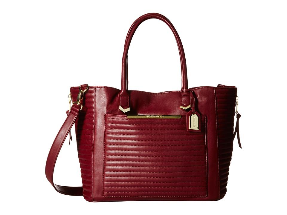 Steve Madden - Item Tote (Wine) Tote Handbags