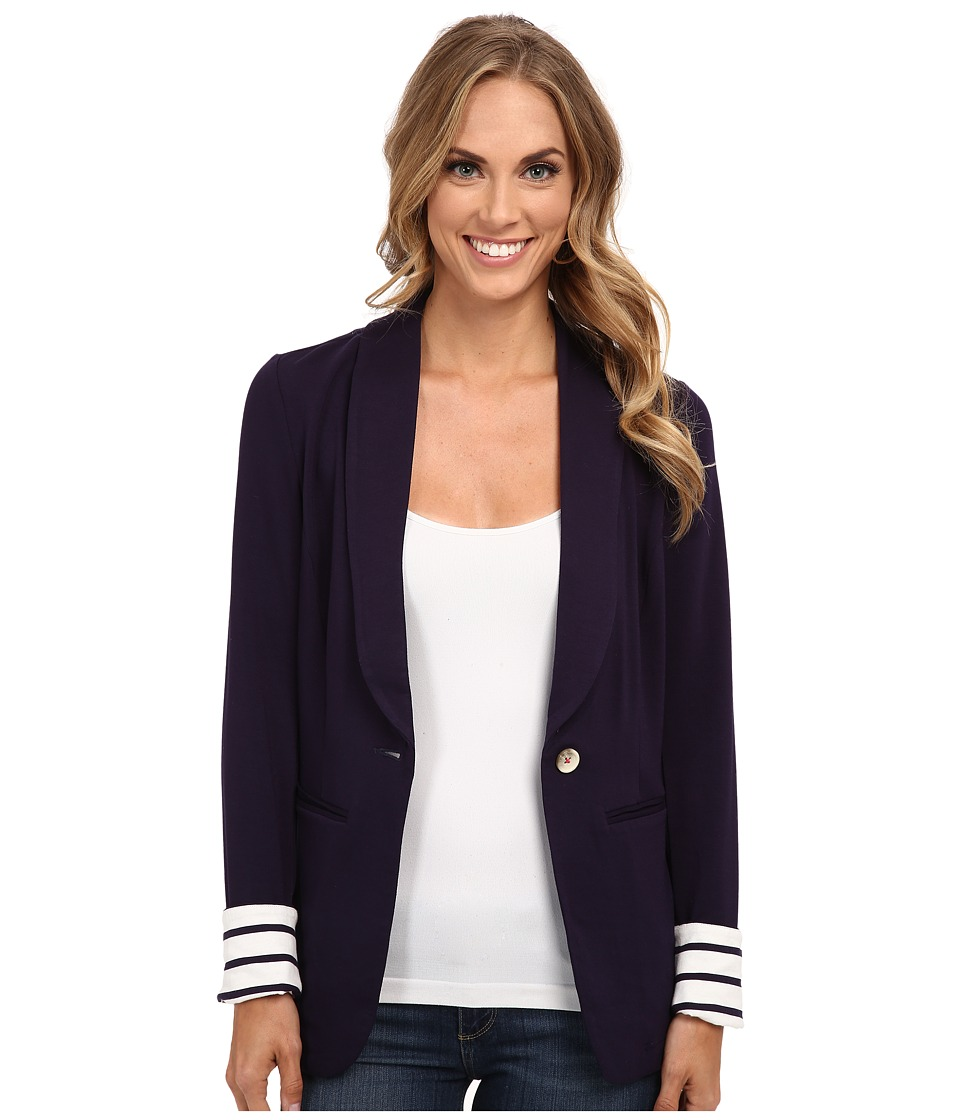 Hatley - Blazer (Navy/Stripes) Women's Jacket