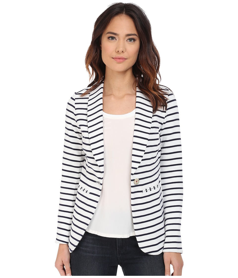 Hatley - Blazer (Navy Stripes/Anchors) Women's Jacket