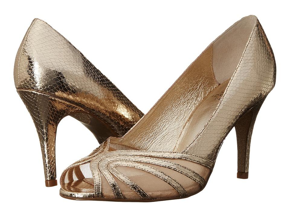 Adrianna Papell - Fergie (Platino Desert Met/Mesh) Women's Shoes