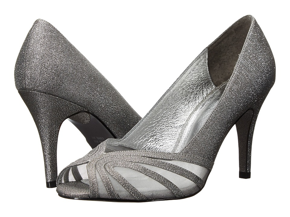 Adrianna Papell - Fergie (Steel Deco Lame/Mesh) Women's Shoes