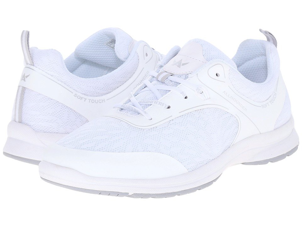 Allrounder by Mephisto - Dakona (White F Mesh) Women's Shoes