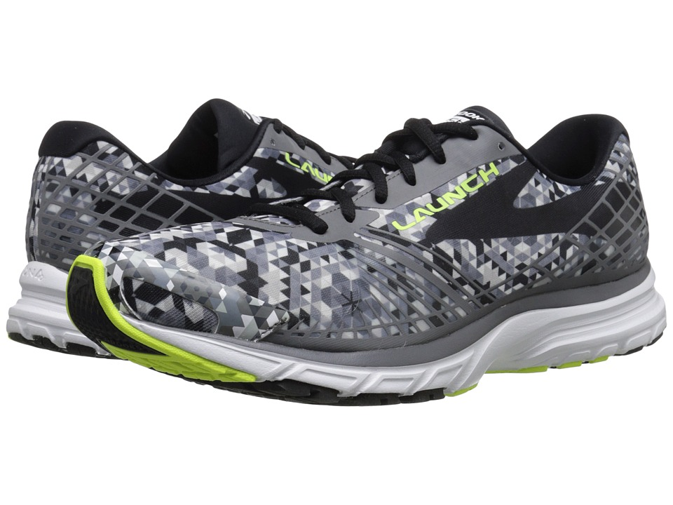 Brooks - Launch 3 (Kaleidoscope/Black/White/Nightlife) Men's Running Shoes