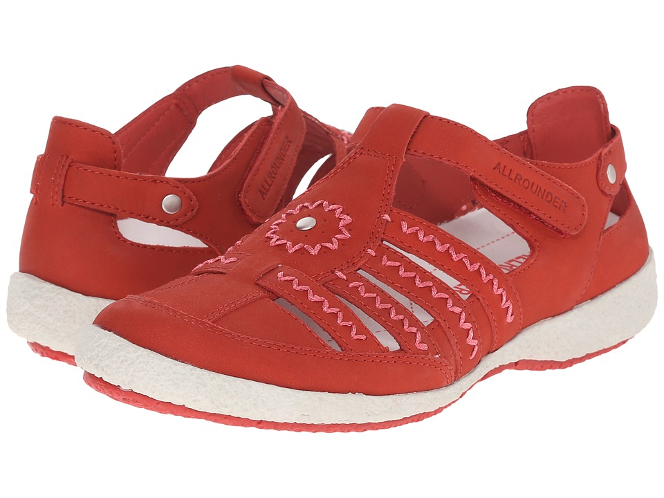 Allrounder by Mephisto - Galina (Red Nubuck) Women's Shoes