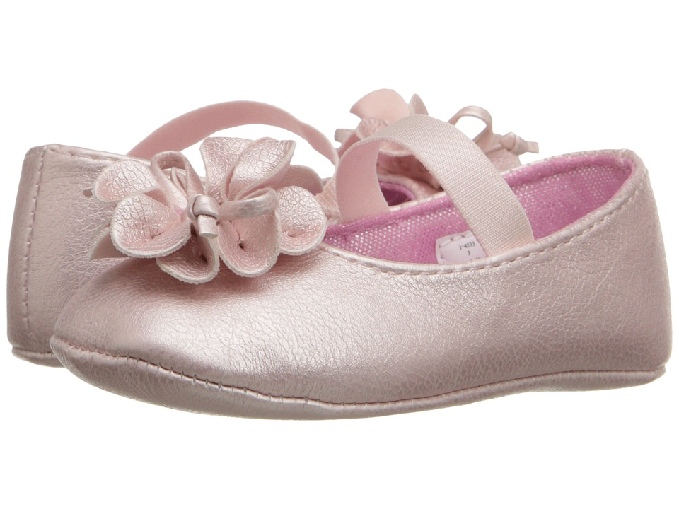 Baby Deer - Metallic Skimmer (Infant) (Pink) Girls Shoes