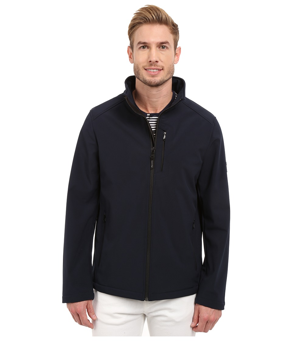 Calvin Klein - Softshell Open Bottom Jacket (Submerge) Men