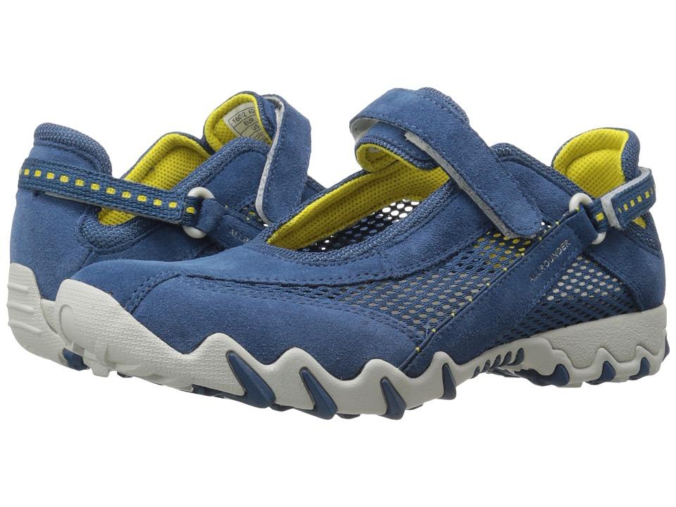 Allrounder by Mephisto - Niro (Cobalt Suede/Open Mesh) Women's Maryjane Shoes