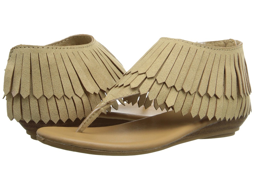 Baby Deer - Fringe Sandal (Infant/Toddler) (Tan) Girls Shoes