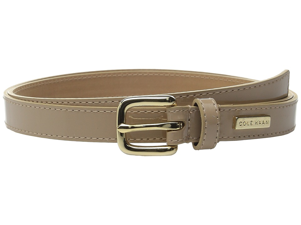 Cole Haan - 3/4 Smooth Patent Belt (Maple Sugar) Women's Belts