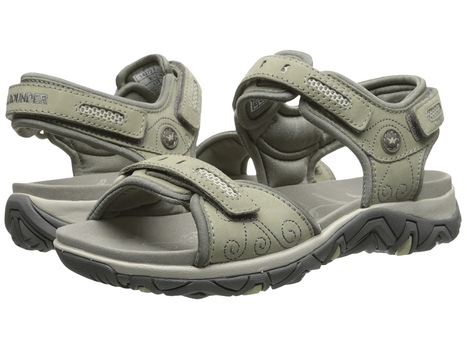 Allrounder by Mephisto - Lagoona (Cool Grey Nubuck/Warm Grey Lycra) Women's Sandals