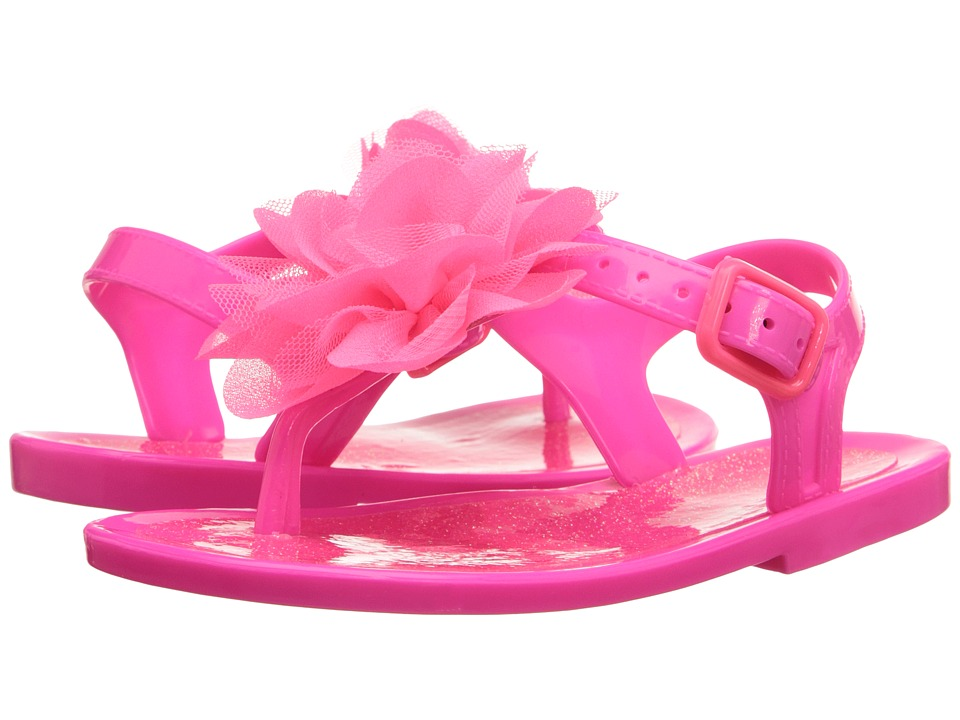 Baby Deer - Jelly Thong Sandal (Infant/Toddler) (Fuchsia) Girls Shoes