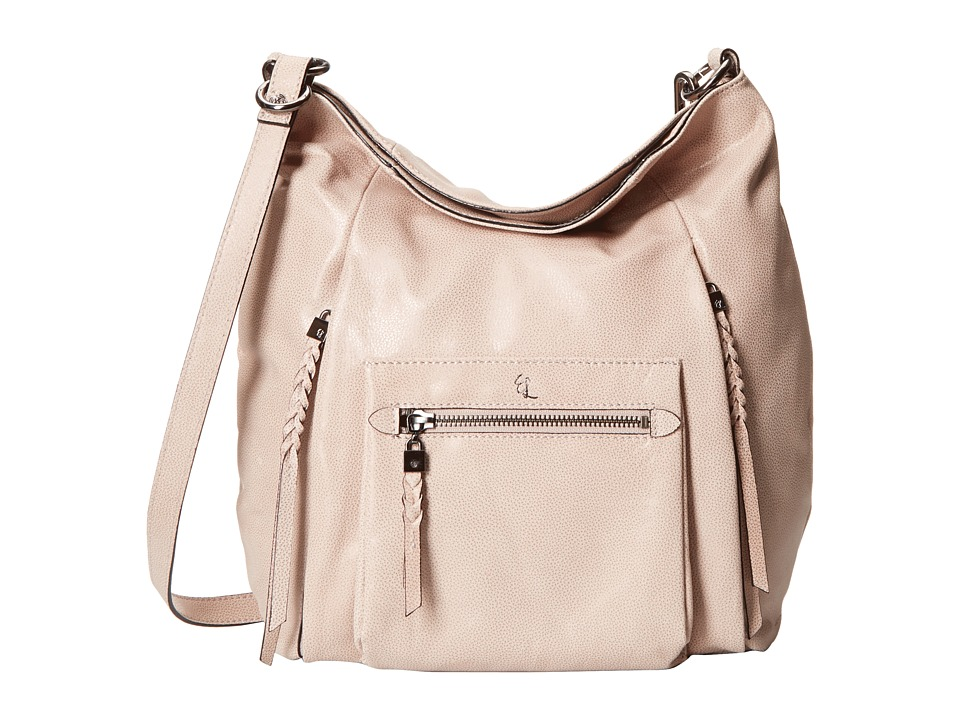 Elliott Lucca - Vivien Fold-Over Hobo (Truffle) Cross Body Handbags