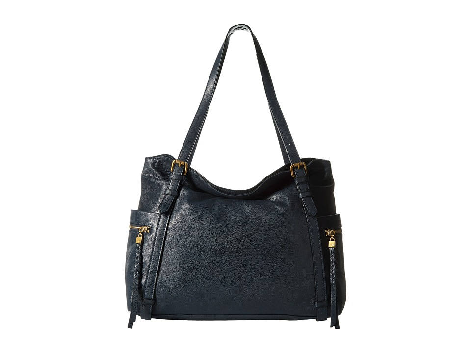 Elliott Lucca - Cammi Fold-Over Tote (Ink) Shoulder Handbags