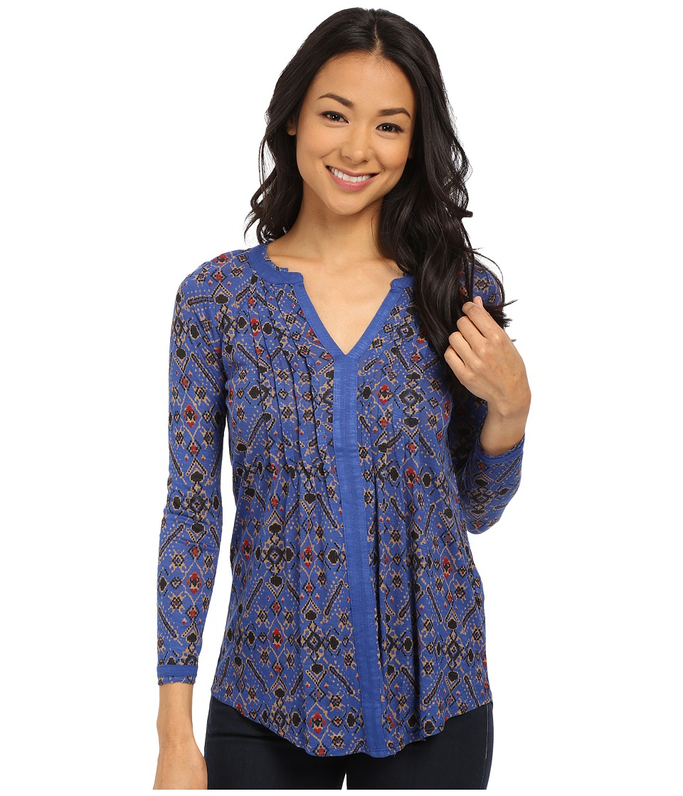 Lucky Brand - Vintage Muse Top (Blue Multi) Women's T Shirt