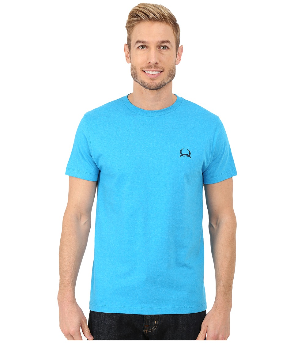 Cinch - Soft Hand Short Sleeve Jersey Tee (Turquoise) Men's T Shirt