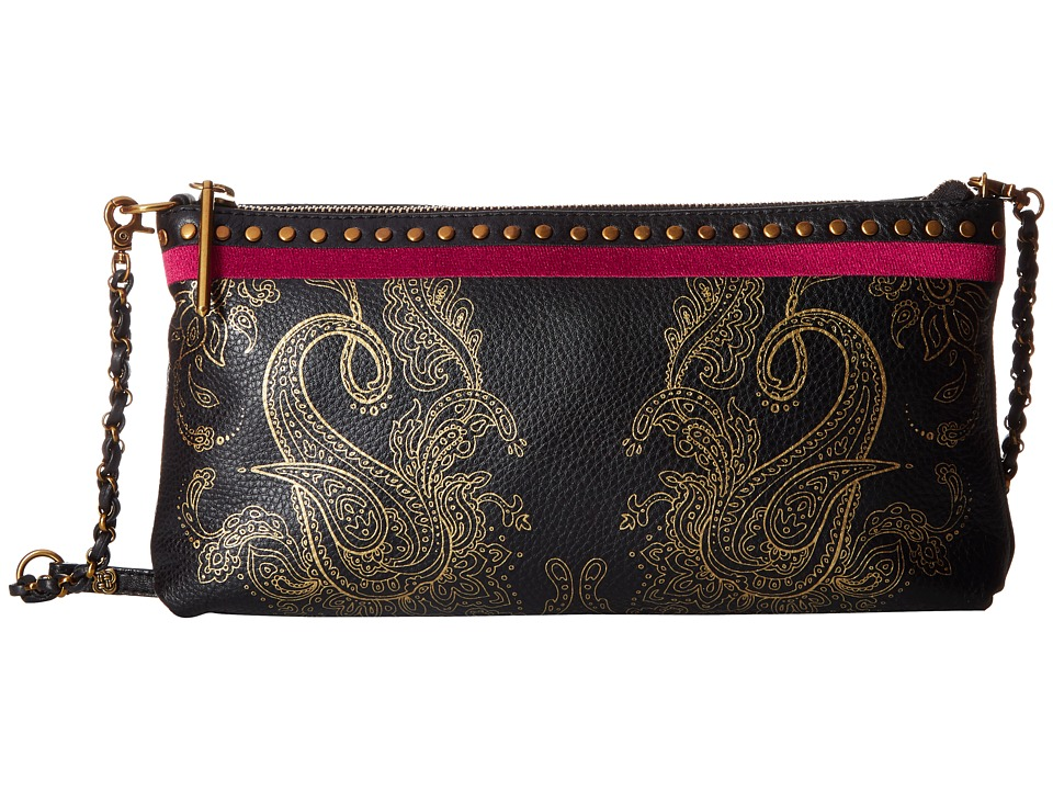 Elliott Lucca - Artisan 3 Way Demi Clutch (Paisley Print) Clutch Handbags