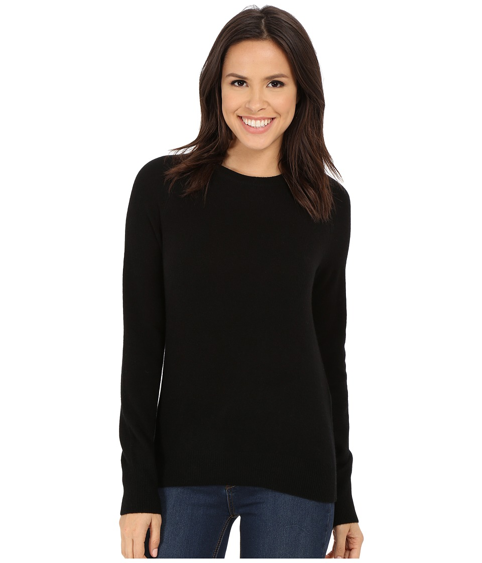 EQUIPMENT - Sloane Crew Neck L/S Top (Black) Women's Long Sleeve Pullover