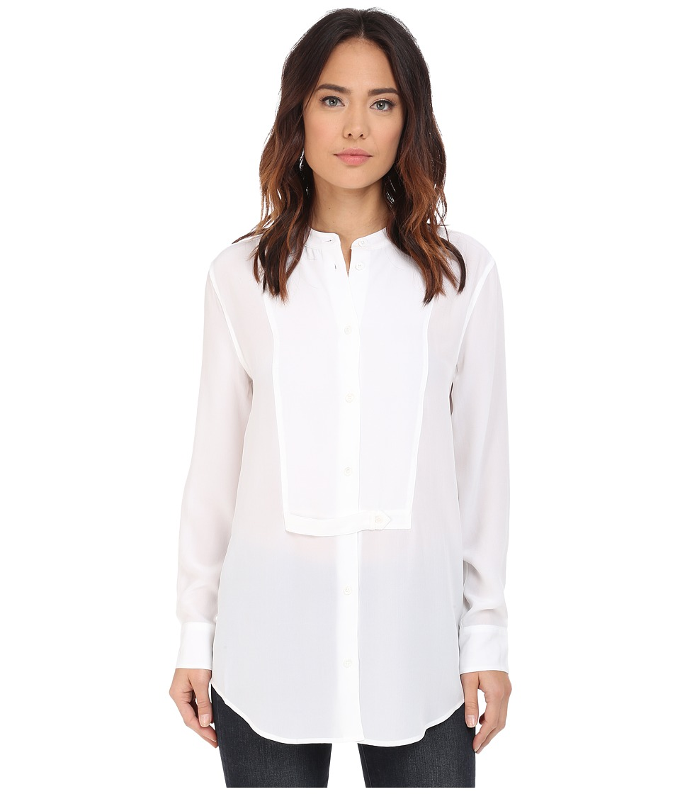 EQUIPMENT - Mandel Blouse (Bright White) Women's Blouse