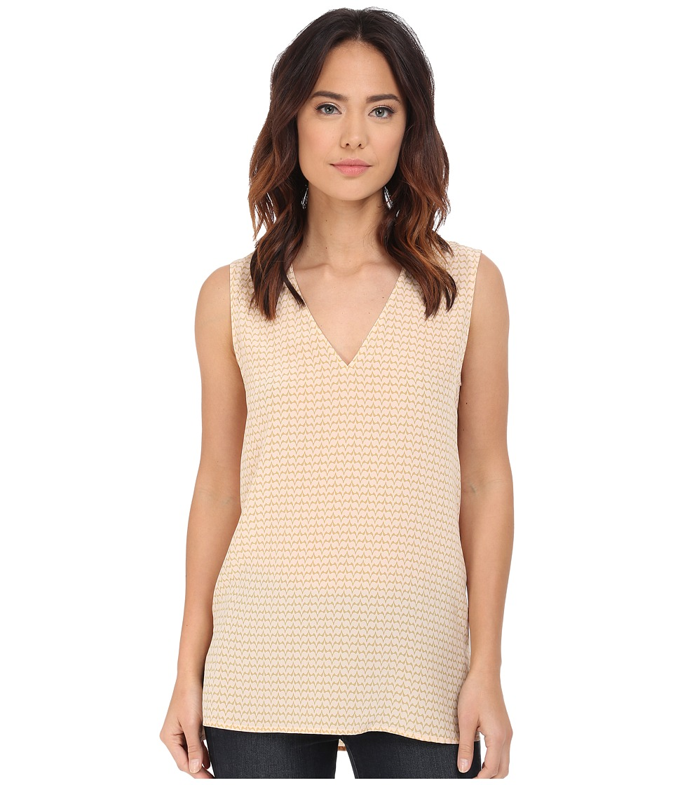 EQUIPMENT - Sleeveless Otis Top (Nude) Women's Sleeveless