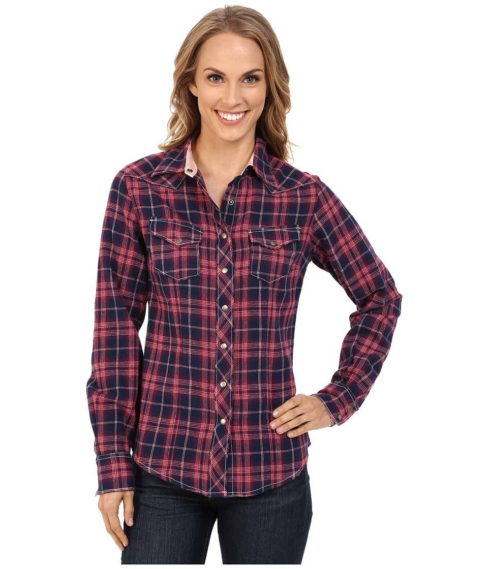 Cruel - Long Sleeve Arena Brushed Twill Plaid (Assorted) Women's Long Sleeve Button Up