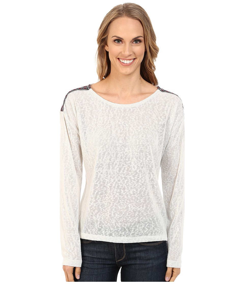 Cruel - Drop Shoulder Polyester Sweater Knit (Grey) Women's Sweater
