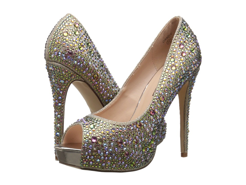 Lauren Lorraine - Candy (Gold Multi) High Heels