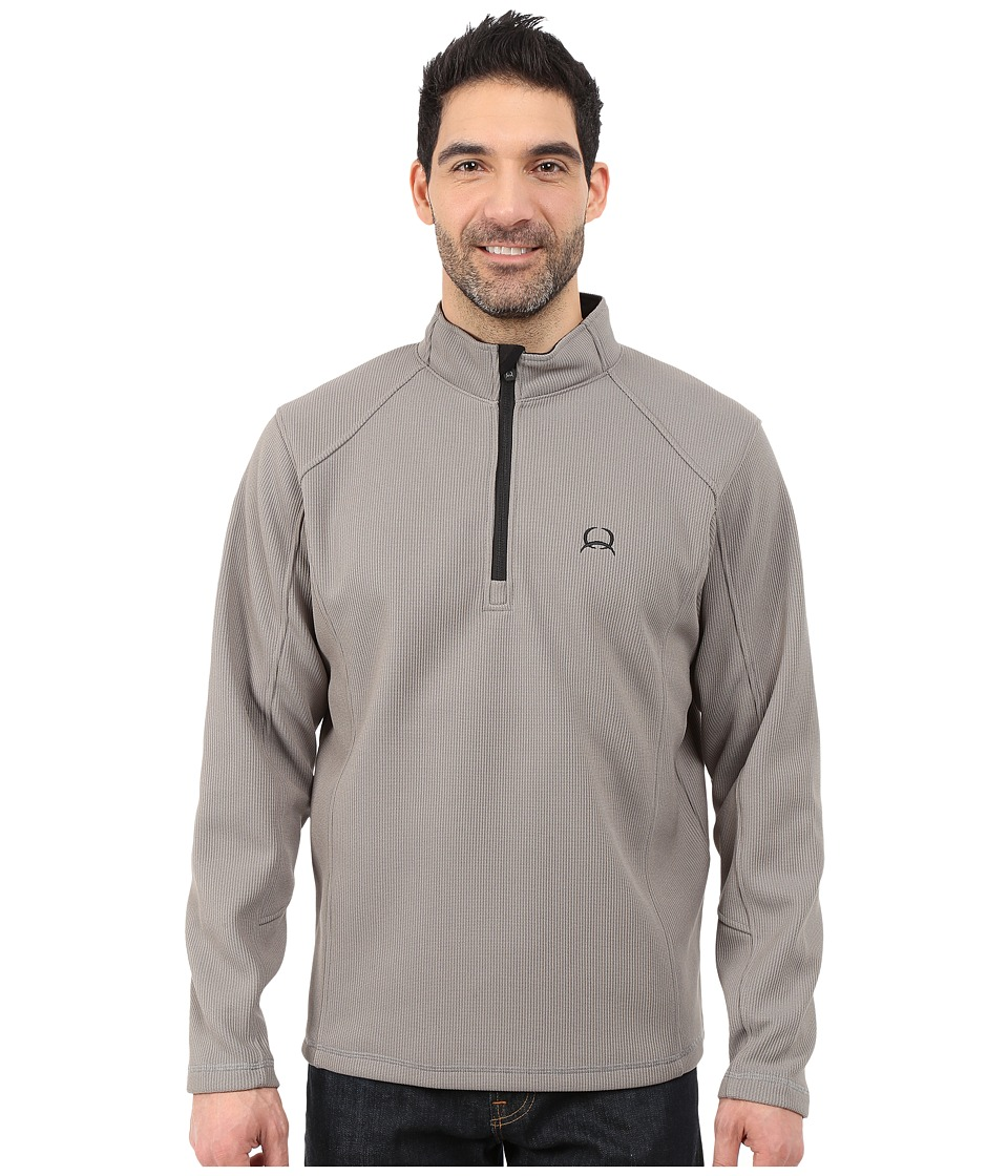Cinch - Sweater Fleece 1/4 Zip Pullover (Grey) Men's Sweatshirt