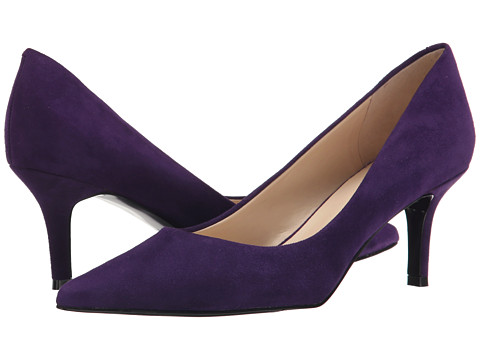 Nine West - Austin (Dark Purple Suede) High Heels