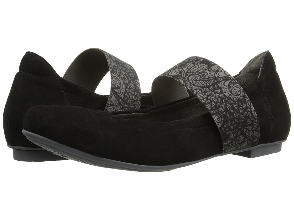 Think! - 86168 (Black/Kombi) Women's Flat Shoes